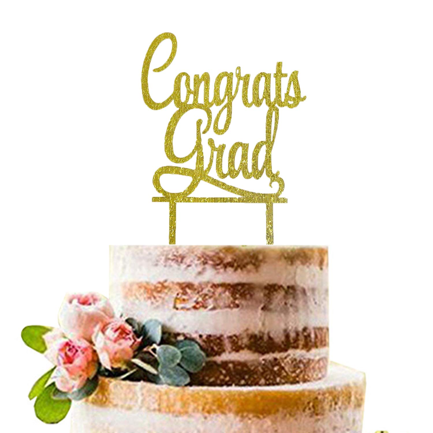 New Graduation Regal Star Cake Topper