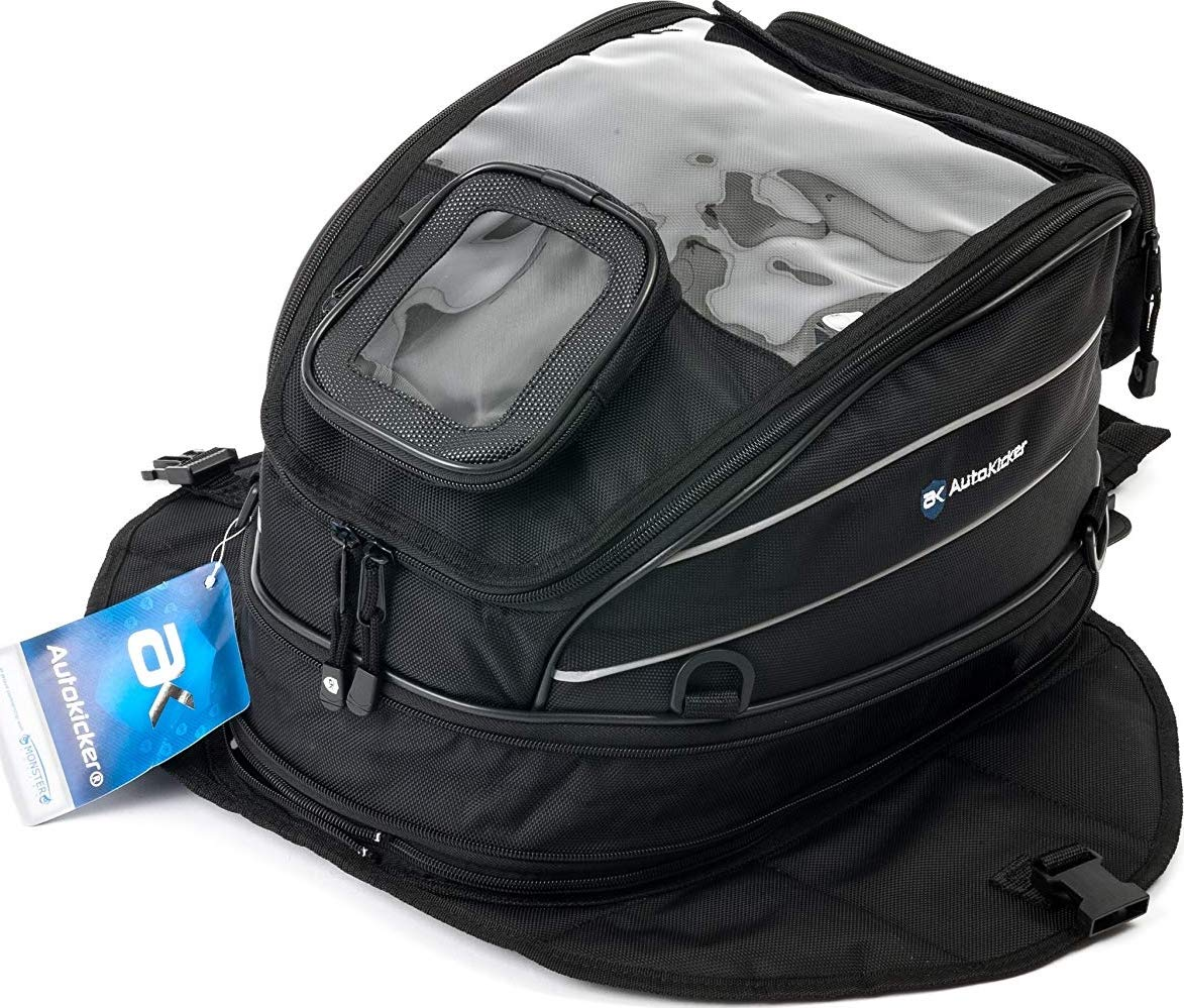 Autokicker 28L Revolve Series Tank Bag For Motorcycles and Motorbikes