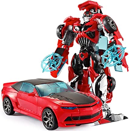 Transformation Mini Car Kid Classic Robot Cars Toy For Children Action Figures