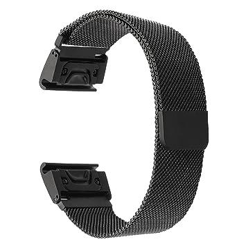 Fur Garmin Fenix 5x Fenix 3 Armband Trumirr Amazon De Elektronik