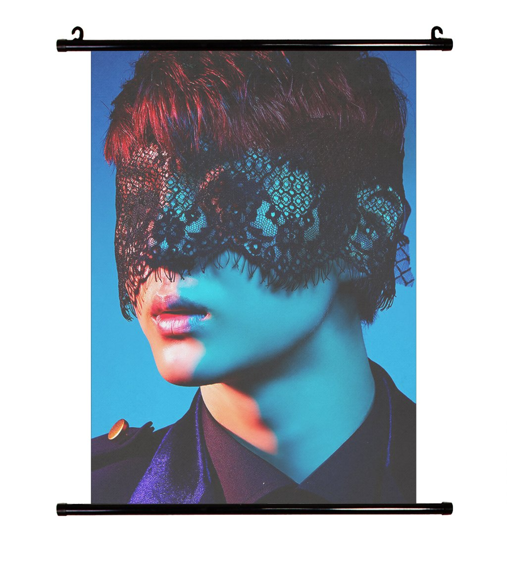 B04 Fanstown Kpop VIXX ZELOS Wall Scroll Poster Lomo Card Sposter-VIXXb-004
