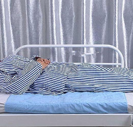 GxNI Protectores de Cama Lavables/Almohadillas Orina Impermeable no húmeda Colchón Mojado Anti-orina para Personas con incontinencia de Cama crónica Azul 81 ...