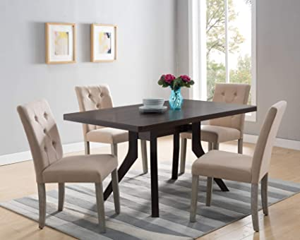 Exceptionnel Smart Home 172219 Contemporary Dining Table 47.25u0026quot; ...