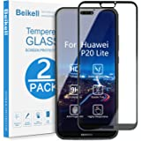 Protector Pantalla Huawei P20 Lite, Beikell [2 Piezas] Cobertura Completa 9H Dureza Cristal Vidrio Templado Huawei P20…