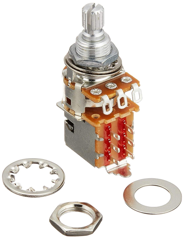 Fender 250K Push/Pull Split Shaft Potentiometer on