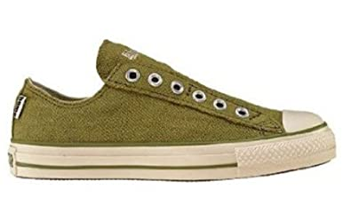 88d12f294010 Converse 1U474 Olive Fashion Sneakers Size 9  Amazon.co.uk  Shoes   Bags
