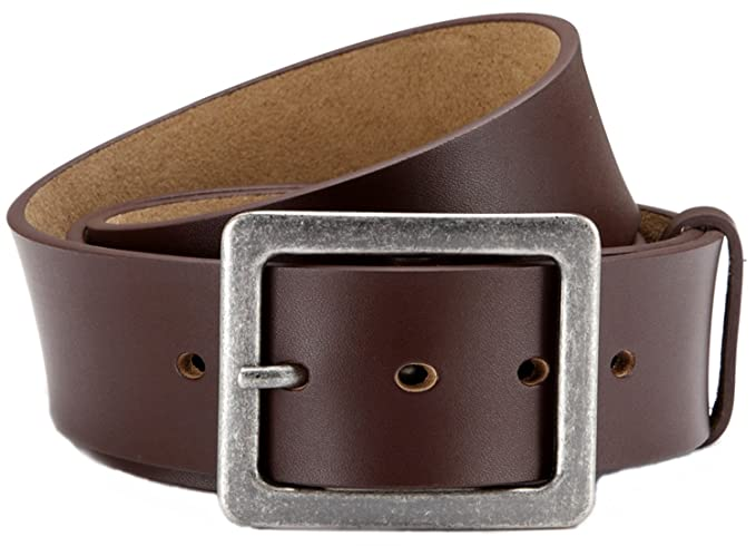 Eg-Fashion - Cinturón - Liso - para hombre marrón Cintura  110 cm    Longitud total  125 cm  Amazon.es  Ropa y accesorios d92c27da3610