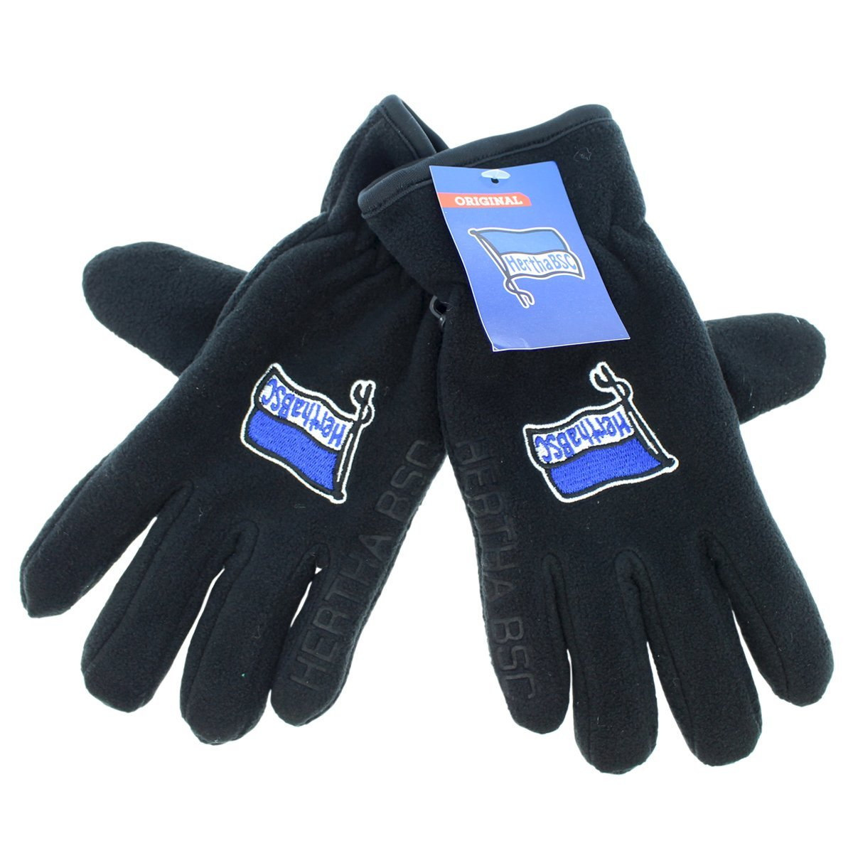Hertha BSC Berlin Handschuhe Thinsulate Gr. S Fleece Trade Con