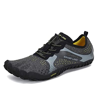 SAGUARO Mens Womens Minimalist Gym Trail Running Walking Beach Hiking  Athletic Outdoor Amphibious Shoes Wide Toe 3ba81fc4e