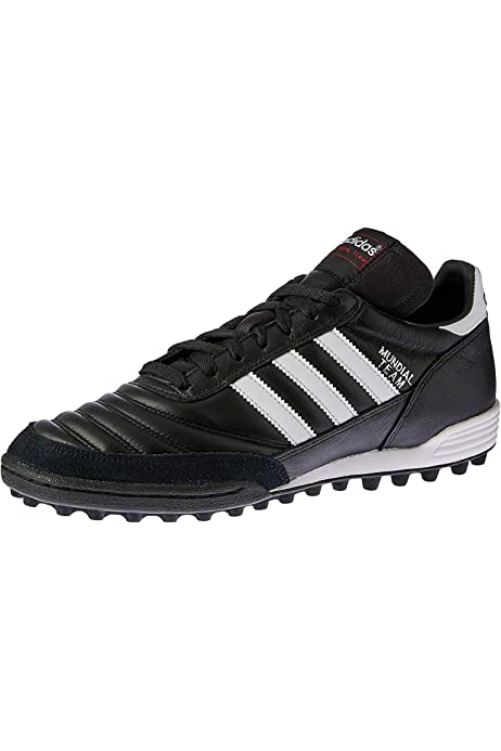 Mens Soccer Shoe 4.5 Black-White