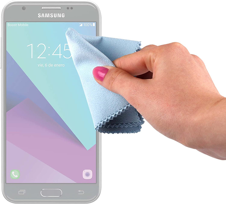 DURAGADGET Gamuza Limpiadora para Smartphone Samsung Galaxy J3, J5 ...