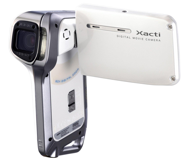 Amazon.com : Sanyo Xacti VPC-E2 Digital Camcorder and 8 MP Digital Camera  (White) : Camera & Photo