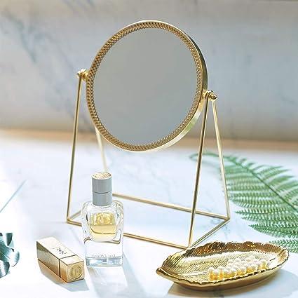 Amazon Com Putwo Makeup Mirror Single Sided Vanity Mirror Vintage