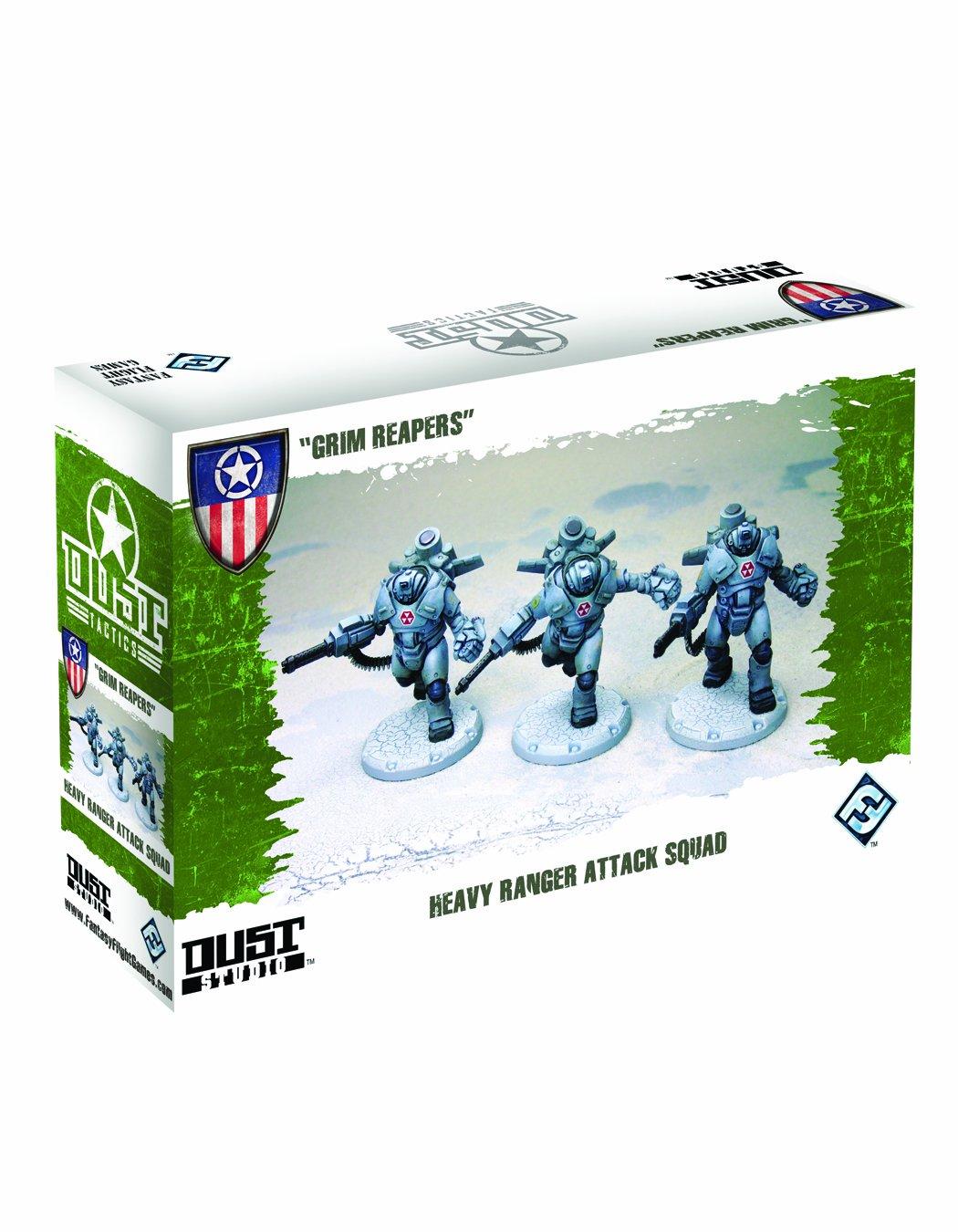 Dust Tactics Heavy Ranger Attack Squad: Grim Reapers