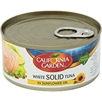 California Garden White Tuna Solid in Sunflower Oil, 170 gms