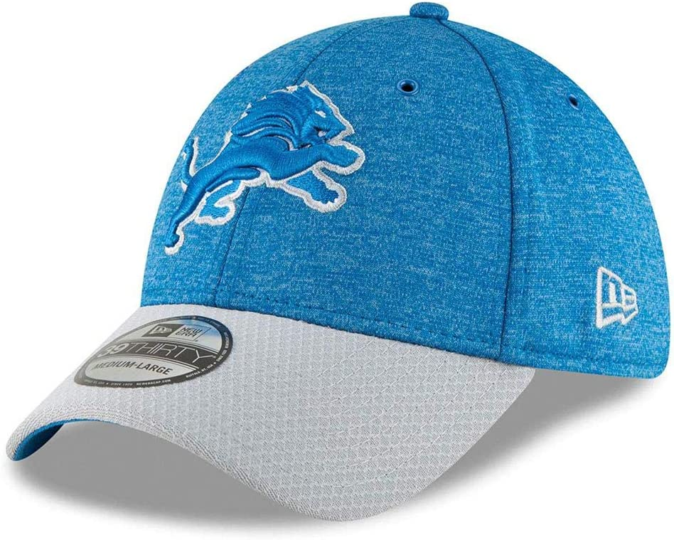 New Era 39Thirty Cap Sideline Home Detroit Lions