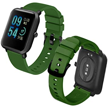 Th-some Correa para Amazfit Bip Impermeable Universal: Amazon.es ...