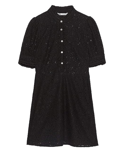 Botón Encaje 4786061mxRopa Vestido Mujer Zara Joya TJ1KFcl