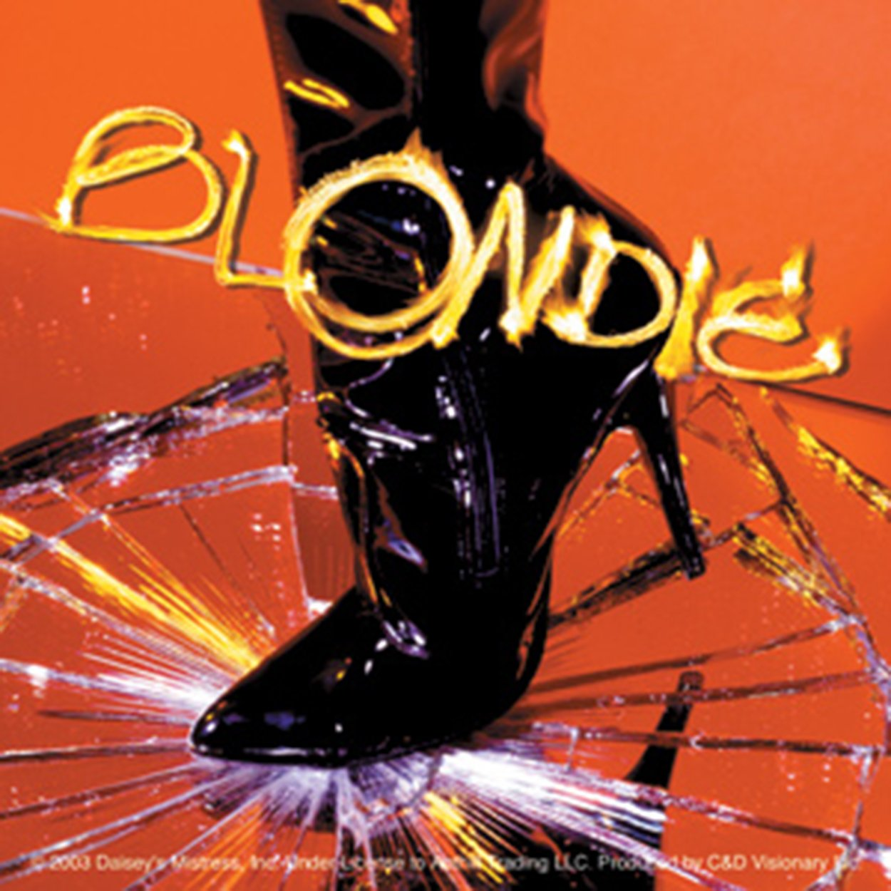 S-2935 Licenses Products Blondie Boot Sticker C/&D Visionary Inc