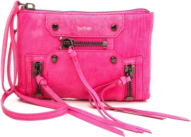 Botkier Women's Logan Cross Body Bag, Pink Rose, One Size