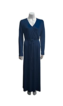 00945412673 Image Unavailable. Image not available for. Color  Beautiful Plus-Size Women s  Pima Cotton   Modal Long Weekend Robe