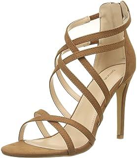Pimkie Damen Crw17 Tangosand Sandalen, Gold 38 EU