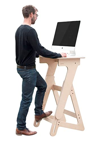 Amazoncom Extra Wide Adjustable Height Standing Desk for Home