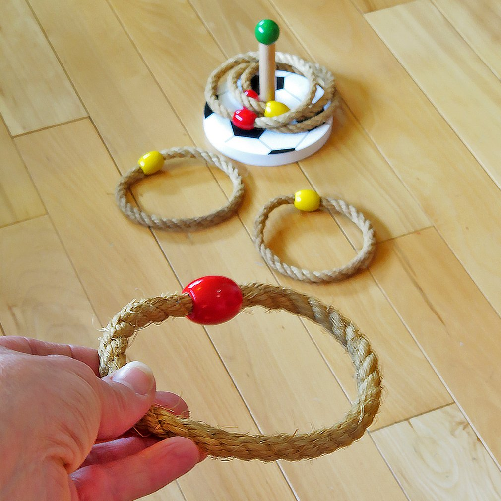 Evelots Ring Toss Game, Kids Games Improve Hand Eye Coordination & Motor Skills by Evelots (Image #2)