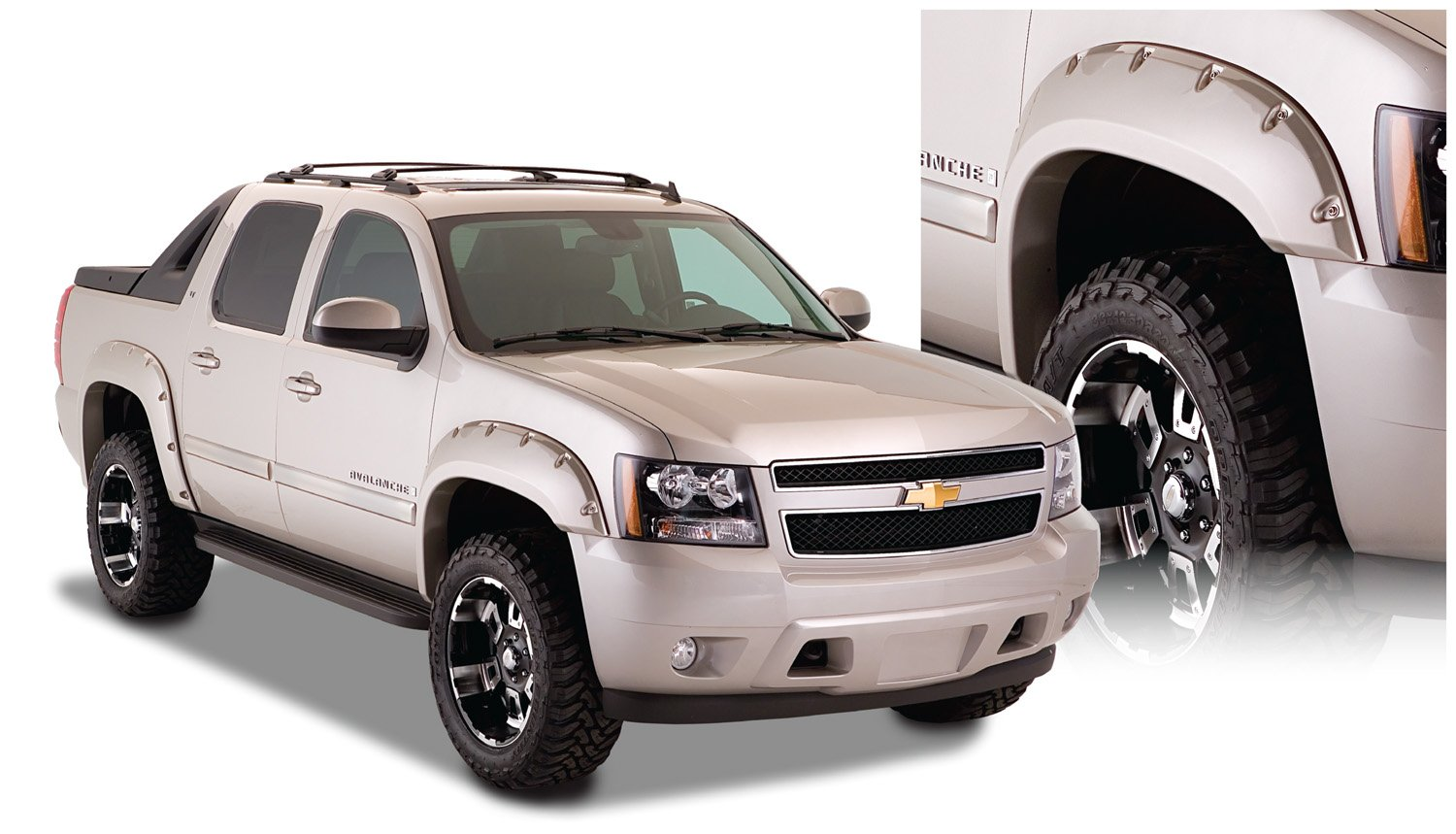 Avalanche 2007 chevy avalanche owners manual pdf : Amazon.com: Bushwacker 40932-02 Chevrolet Pocket Style Fender ...