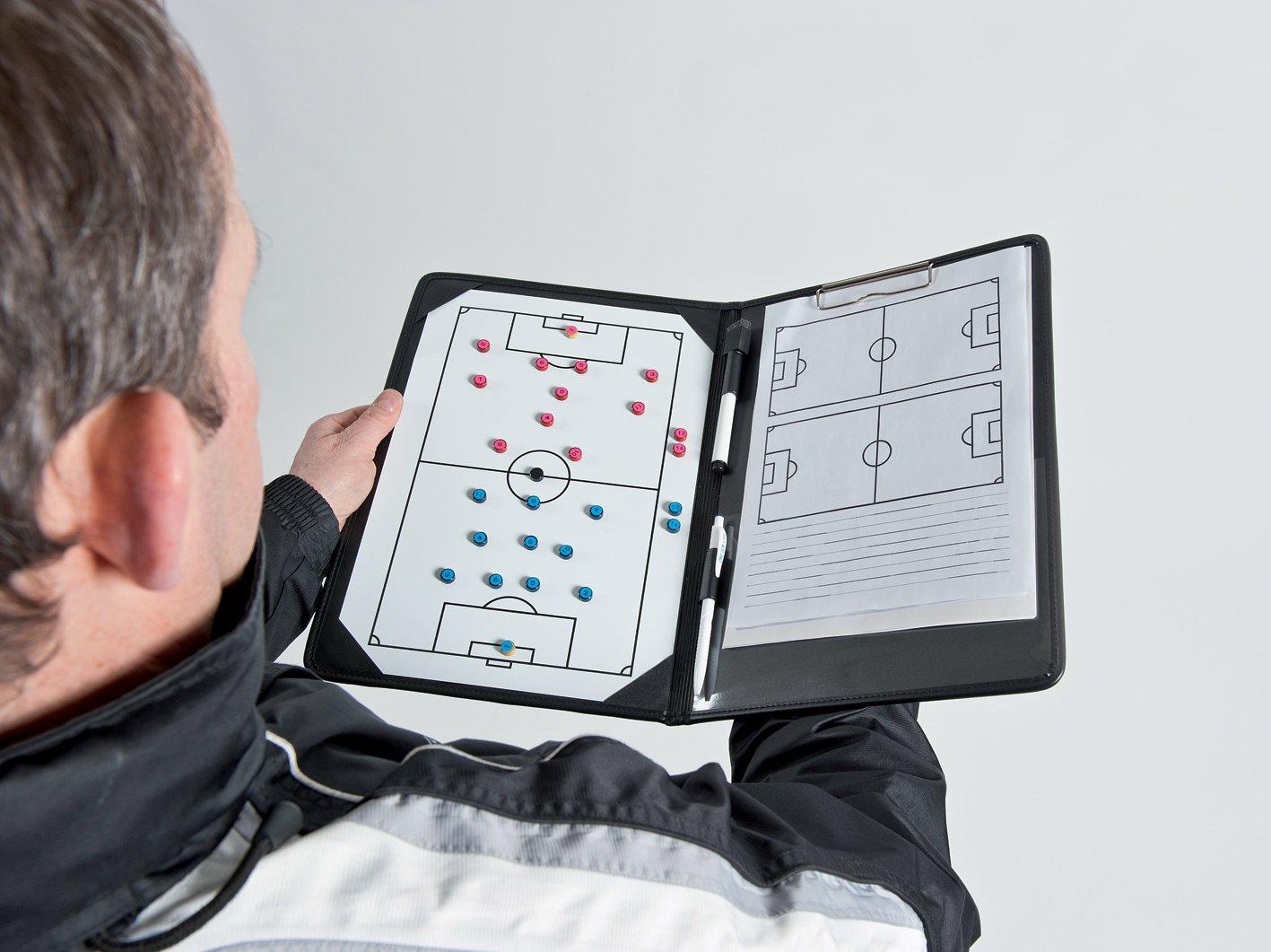 Precision - Carpeta con pizarras tácticas de fútbol Precision Training