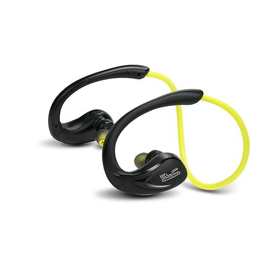 Klip Xtreme Athletik X gancho de oreja Binaural Inalámbrico Negro, Amarillo: Amazon.es: Electrónica