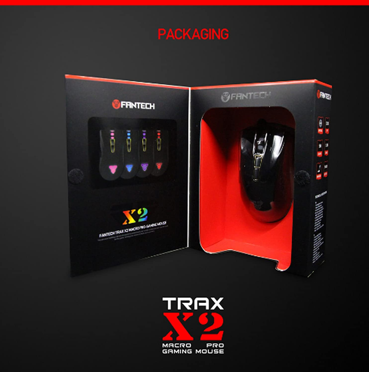Amazon Buy Gaming Mouse X2 TRAX Fantech Premium Professional 7D Gaming Mouse with LED line at Low Prices in India