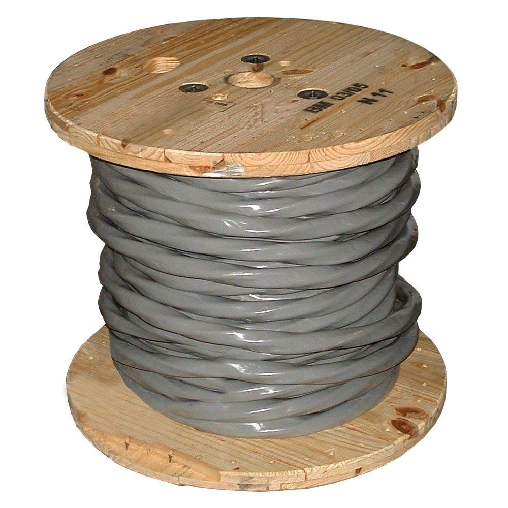 Southwire 4/0-4/0-4/0-2/0 Aluminum SER Wire (By-the-Foot)