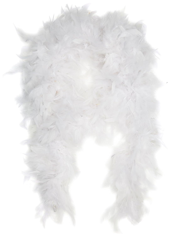 Creativo - boa de plumas, 1,8 m, Color Blanco Creative 200000311293