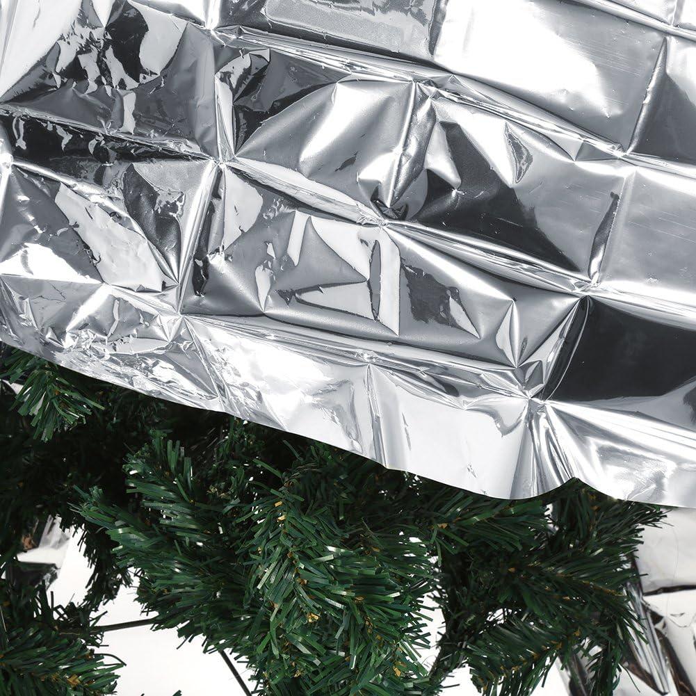 82.7x47.2 Silver Reflective Mylar Film Plant Reflective Film Garden Greenhouse Grow Light Accessories New