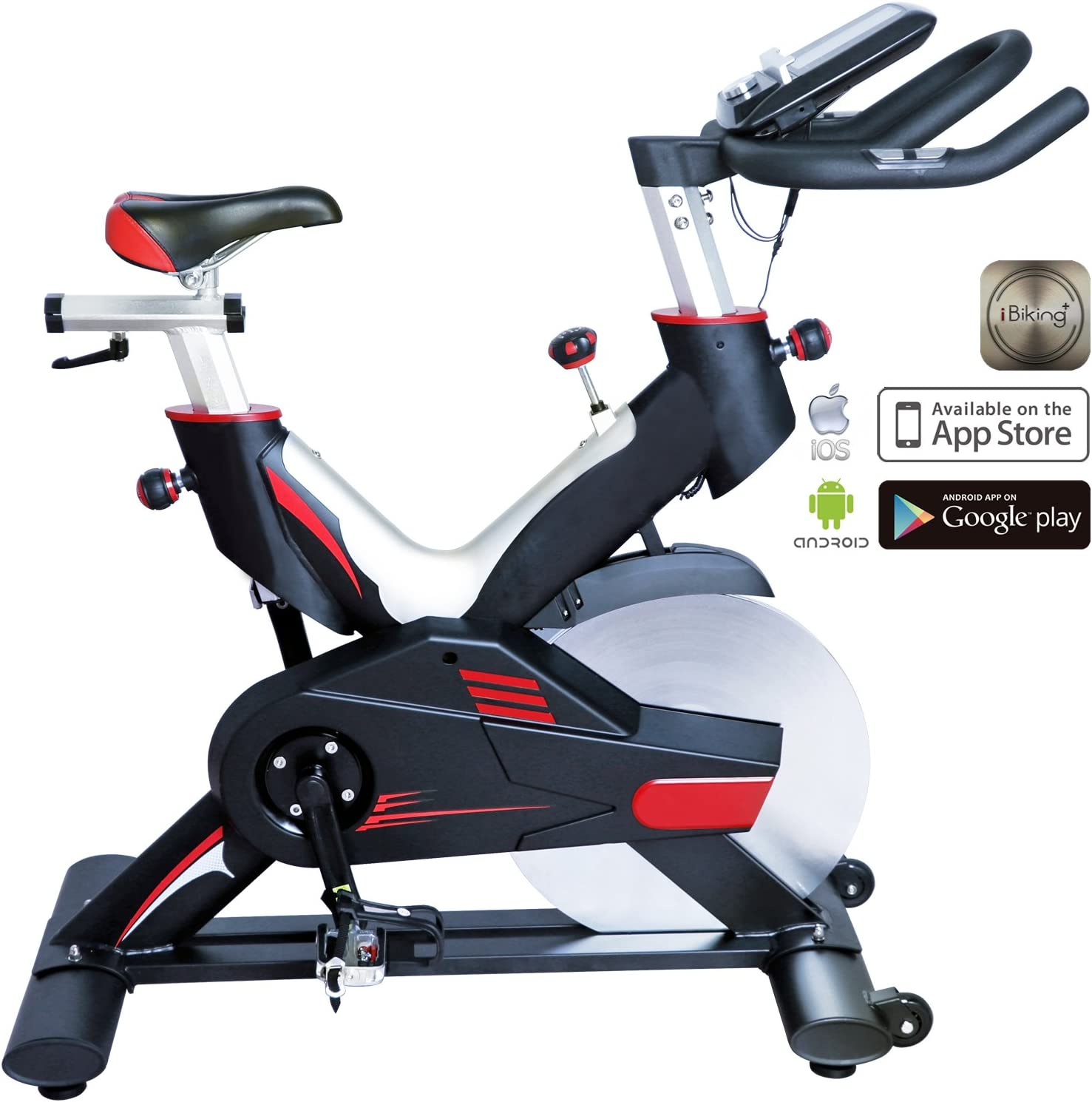 Cardio Bull indoorcycle Speed Bike S15 Bluetooth | Fitness Bike ...