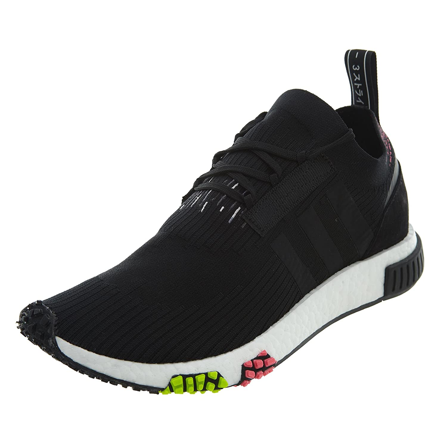 Image of adidas Men's NMD_Racer Primeknit Running Shoe Athletic