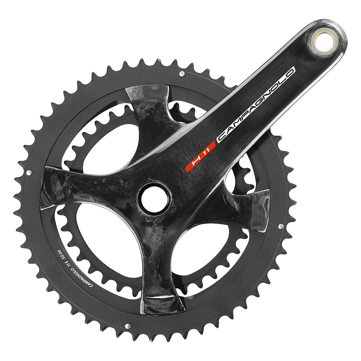 Campagnolo h11 UT 11-speedロード自転車Crankset 175x53-39 ブラック B072FLCMG1