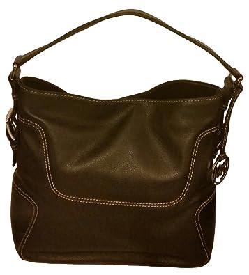 fea67d1c69 Michael Kors Brookville Large Black Leather Shoulder Bag  Handbags ...