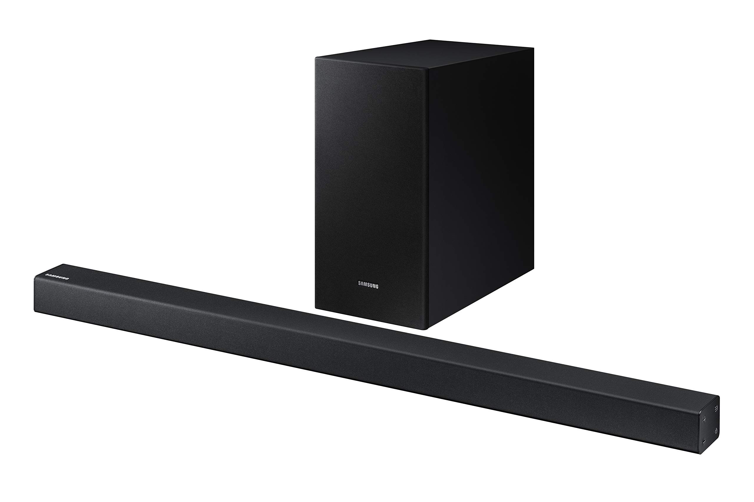 Samsung 2.1 Soundbar HW-R450 with Wireless Subwoofer, Bluetooth Compatible, Smart Sound Mode, Game Mode, 200-Watts by Samsung