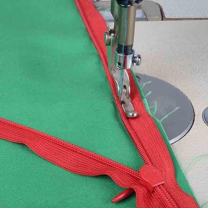 yeqin Industrial máquina de coser cordón cremallera pie P36LN/P36 ...
