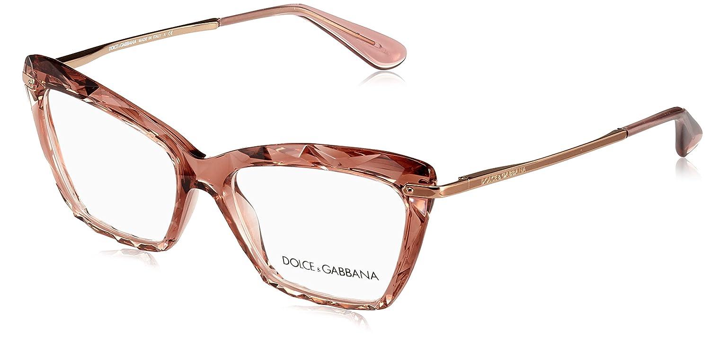 Amazon.com  Dolce Gabbana DG5025 Eyeglass Frames 3148-53 - Transparente  Pink DG5025-3148-53  Clothing 4ab447f591