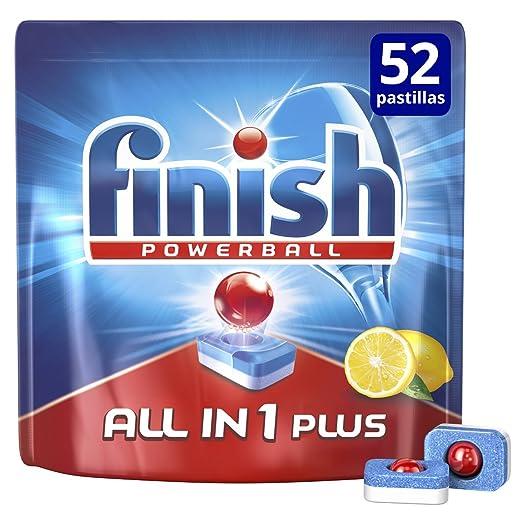 Finish Todo en 1 Max Limón Pastillas para Lavavajillas - 35 + 15 pastillas