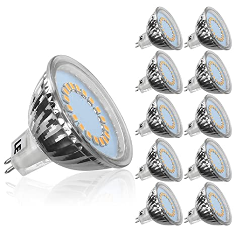 LE Bombillas GU5.3 LED 3.5W~35W Halógena, Blanco cálido, MR16