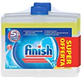 Finish Curalavastoviglie Additivo Lavastoviglie, Lemon, 2 x 250 ml