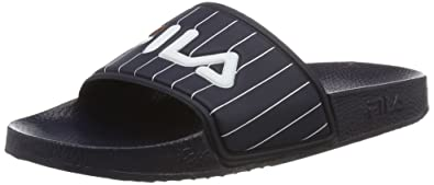 a9c092b6bc94 Fila Damen Base Baywood Slipper WMN Offene Sandalen, Blau (Dress Blue), 38