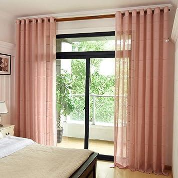 Wbxzal Vorhänge Cotton Linen Stil Dicken Vorhang Kurz Moderne