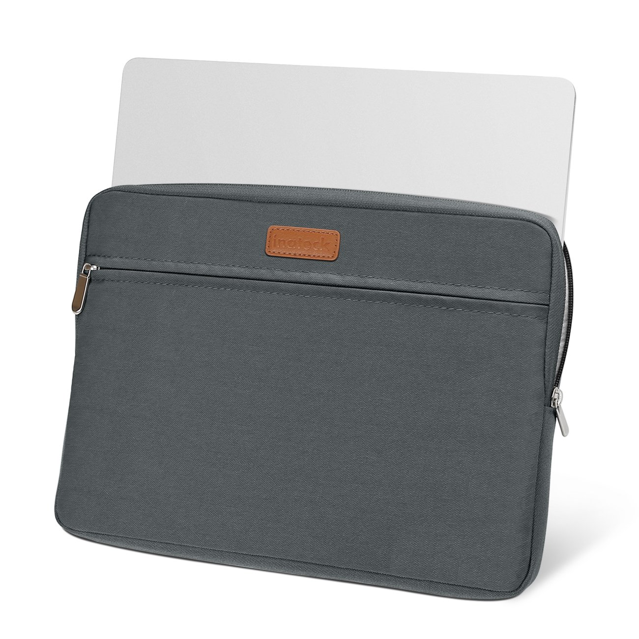 Gray LC1300S Inateck 13-13.3 Inch Sleeve Compatible MacBook Air//Pro Retina Water Repellent Sleeve Carrying Case Bag