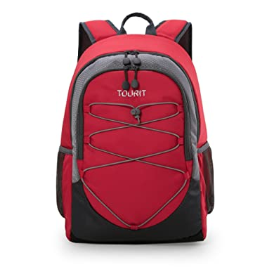 TOURIT Classic Insulated Cooler Backpack Soft Cooler Lightweight Backpack with Cooler for Lunches, Picnics, Hiking, Beach, Park or Day Trips, 28 Cans