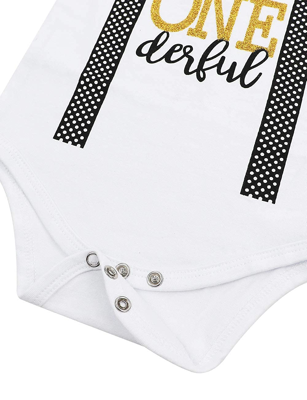 Baby Boy First Birthday Outfit Mr Onederful Bowtie Romper+Shorts Pants